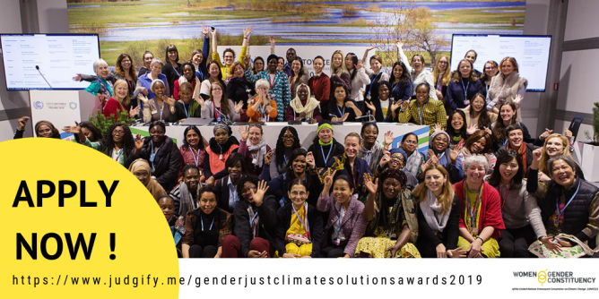 Gender-Just Climate Solutions Awards